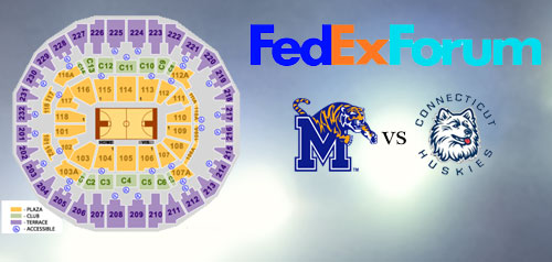 fedex-forum-discounted-tickets-uconn-memphis